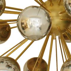 In the Style of Mid Century Modern Sputnik Italian Suspension Lamp - 1232806