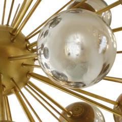 In the Style of Mid Century Modern Sputnik Italian Suspension Lamp - 1232810