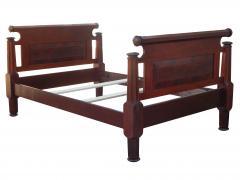 Incredible Mahogany Bed - 1852879