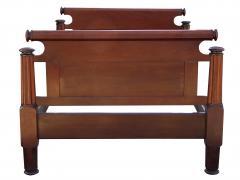 Incredible Mahogany Bed - 1852884