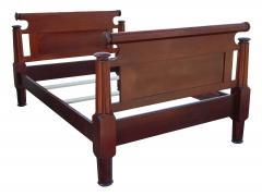 Incredible Mahogany Bed - 1852888