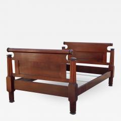Incredible Mahogany Bed - 1853802