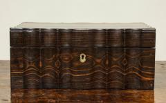 Indian Ebony Scalloped Sided Box - 663854