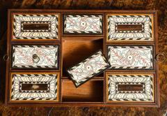 Indian Ebony Scalloped Sided Box - 663858