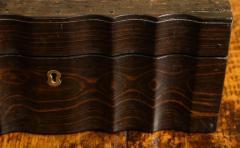 Indian Ebony Scalloped Sided Box - 663859