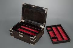 Indian Silver and Ebony Box - 1233853