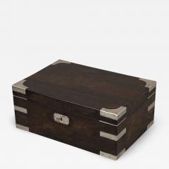 Indian Silver and Ebony Box - 1234750