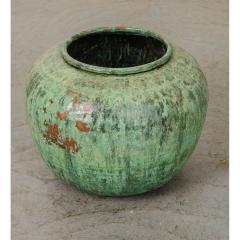 Indian Vintage Painted Metal Pot - 1806519