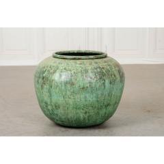 Indian Vintage Painted Metal Pot - 1806537