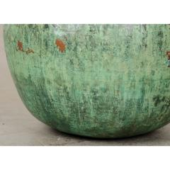 Indian Vintage Painted Metal Pot - 1806538