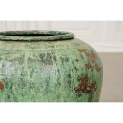 Indian Vintage Painted Metal Pot - 1806539