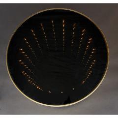Infinity Illuminated Round Side Table Italy 1970s - 1898336