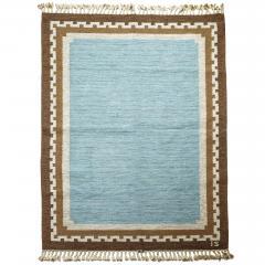Ingegerd Silow Modern Classicism Style Flat Woven Carpet by Ingegerd Sirlow - 1792805
