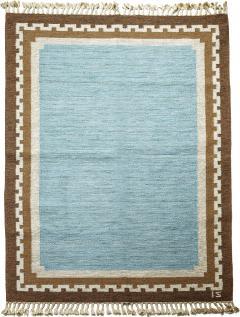 Ingegerd Silow Modern Classicism Style Flat Woven Carpet by Ingegerd Sirlow - 1792901