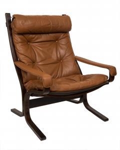 Ingmar Relling Mid Century Siesta Leather Lounge Chair By Ingmar Relling For Westnofa - 681640