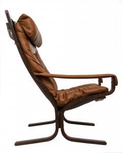 Ingmar Relling Mid Century Siesta Leather Lounge Chair By Ingmar Relling For Westnofa - 681641