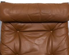 Ingmar Relling Mid Century Siesta Leather Lounge Chair By Ingmar Relling For Westnofa - 681644