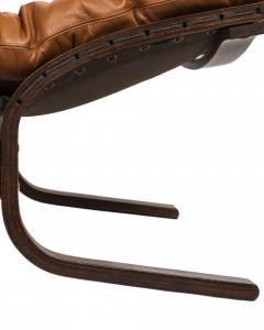 Ingmar Relling Mid Century Siesta Leather Lounge Chair By Ingmar Relling For Westnofa - 681645