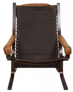 Ingmar Relling Mid Century Siesta Leather Lounge Chair By Ingmar Relling For Westnofa - 681646