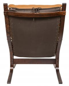 Ingmar Relling Mid Century Siesta Leather Lounge Chair By Ingmar Relling For Westnofa - 681647
