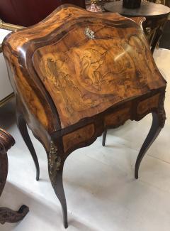 Inlay Marquetry Bombay Desk Secretary - 1051100
