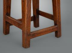 Interesting 18th Century Elm Stool - 1131749