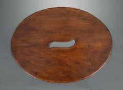 Interesting 18th Century Elm Stool - 1131751