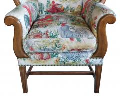 Inviting Pair of English Country Style Wing Chairs - 1955673