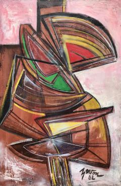 Irene Zevon Abstraction 1962  - 716130
