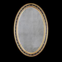 Irish George III Oval Mirror - 2118484