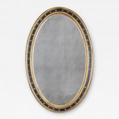 Irish George III Oval Mirror - 2120326