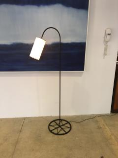 Iron Floor Lamp with Shade - 319807