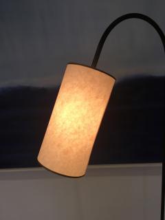 Iron Floor Lamp with Shade - 319810
