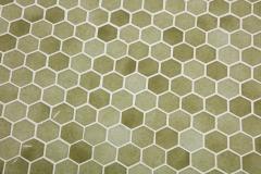 Iron Tile Top Garden Table - 1237757