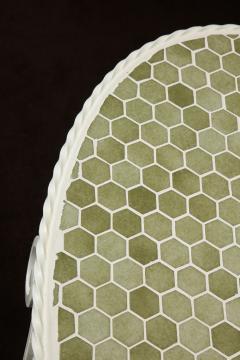 Iron Tile Top Garden Table - 1237759