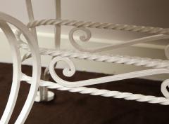 Iron Tile Top Garden Table - 1237762