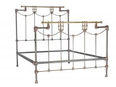 Iron and Brass Bed - 613189