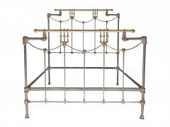 Iron and Brass Bed - 613191