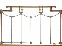 Iron and Brass Bed - 613192