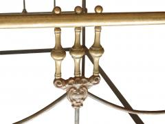 Iron and Brass Bed - 613193