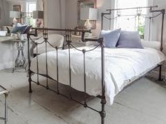 Iron and Brass Bed - 613196