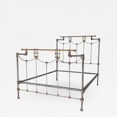 Iron and Brass Bed - 615529