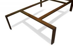 Iron and Glass Coffee Table - 1854043