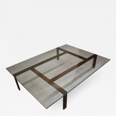 Iron and Glass Coffee Table - 1856050