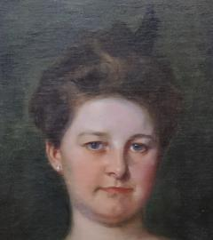 Irving Ramsey Wiles A Society Matron is a Portrait of a Woman by Irving Ramsey Wiles - 1218476