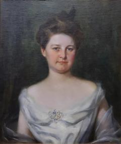 Irving Ramsey Wiles A Society Matron is a Portrait of a Woman by Irving Ramsey Wiles - 1218477