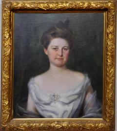 Irving Ramsey Wiles A Society Matron is a Portrait of a Woman by Irving Ramsey Wiles - 1218478