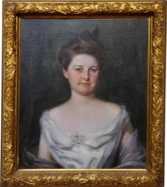 Irving Ramsey Wiles A Society Matron is a Portrait of a Woman by Irving Ramsey Wiles - 1218524