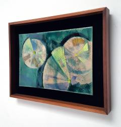 Irwin A Whitaker Abstraction 1 Enamel by Irwin Whitaker - 1900654