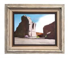 Irwin A Whitaker Canyon De Chelly Enamel by Irwin Whitaker - 1900661